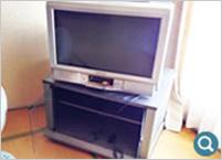 テレビ、テレビ台、ビデオ