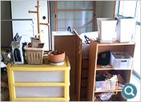 カラーボックス、衣装ケース、その他小物の回収