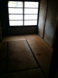 名駅 回収作業 改装された古民家 2階建て