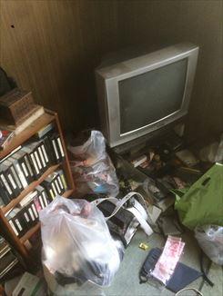名古屋市中川区にて解体前の住居兼工場の丸ごと片付け